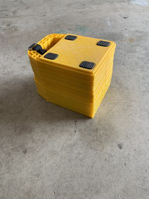 Trailer/RV leveling blocks-jack pads for Sale in Murrieta, CA