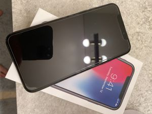 Iphone x black 64gb in perfect condition for Sale in Issaquah, WA
