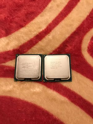 2 2 core duos CPUs working for Sale in Fort Worth, TX