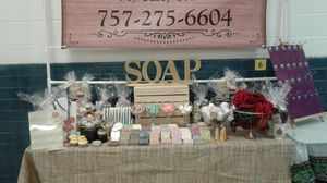 Hamdmade soaps, bath bombs, gift basket, and more. for Sale in Charlotte, NC