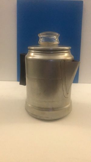 Vintage All Aluminum 5 cup camping coffee maker for Sale in Tarpon Springs, FL