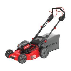 Craftsman V60 cordless self-propelled lawn mower kit for Sale in Chandler, AZ
