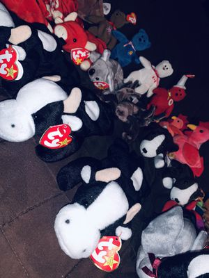 50 + Vintage 1996 TY Beanie Babies for Sale in Toledo, OH