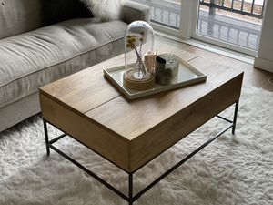 West Elm Storage Coffee Table for Sale in Seattle, WA