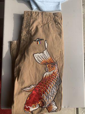 Gucci Koy fish pants for Sale in Washougal, WA