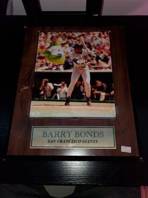 Barry Bonds Plaque for Sale in Orlando, FL