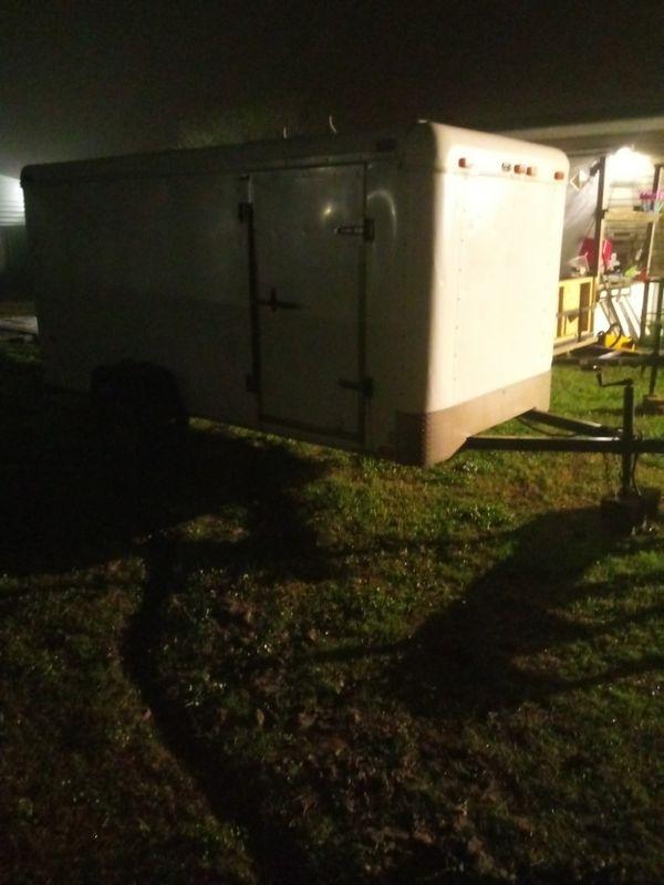 6×12 enclosed trailer