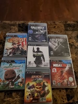 PS3 GAMES for Sale in Fresno, CA