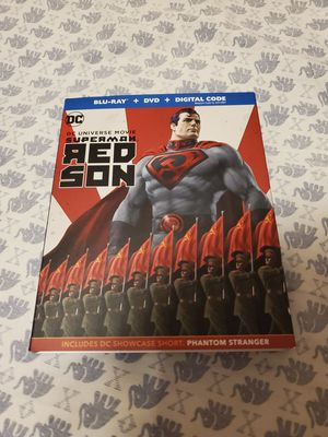 Superman Red Son Blu-Ray / DVD for Sale in Fort Worth, TX
