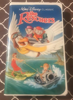 Disney's The Rescuer's Black Diamond VHS for Sale in Reading, PA