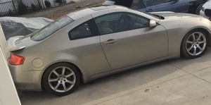 2004 infinity G 35 coupe six speed (parts car only)!!! for Sale in Manchester Township, NJ
