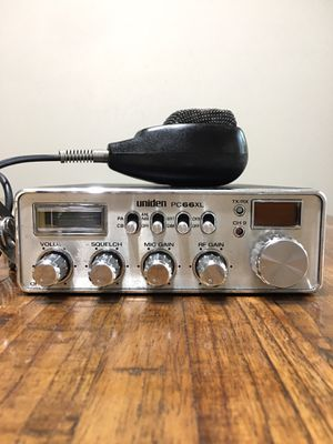 Uniden Model PC 66 XL CB Radio for Sale in Houston, TX