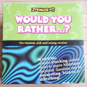 Would You Rather...? Board Game for Sale in Gaithersburg, MD