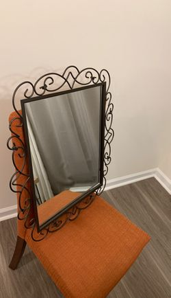 Excellent decor and wall hanging mirror for Sale in Cary,  NC