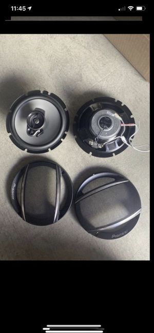 Pioneer car speakers TS-A652F 6.5 inches for Sale in Irvine, CA