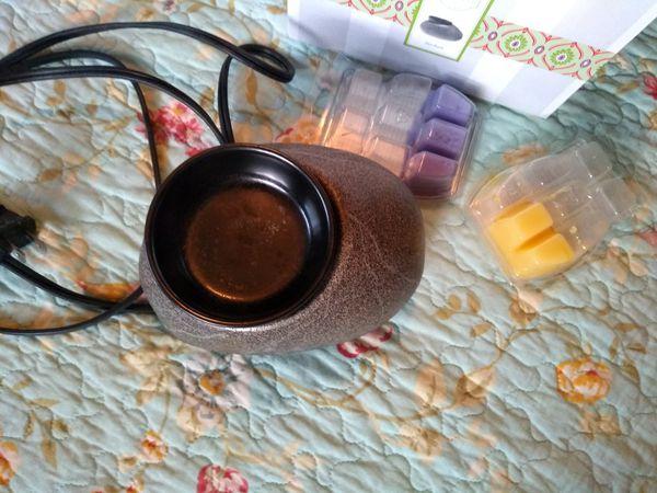 Scentsy Zen table top scent warmer