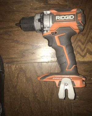 Rigid hammer drill with charger and battery!! Milwaukee drill bit for Sale in Brooklyn, NY