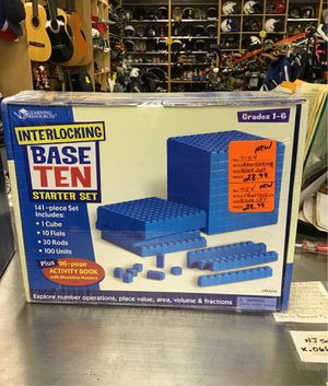 Base ten starter set for Sale in Jersey City, NJ