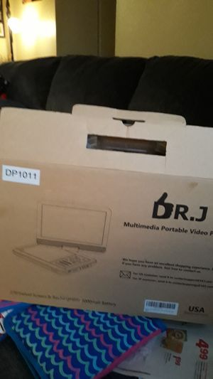 Portable dvd player like new for Sale in Yucaipa, CA
