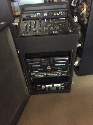 Dj equipment set for Sale in Los Angeles, CA