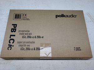 Polk Audio PB LCic Pre-construction Speaker Bracket (Pair) for Sale in Santa Clarita, CA
