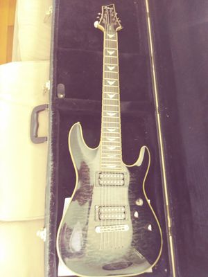 Schecter 7 string guitar for Sale in Clarksburg, WV