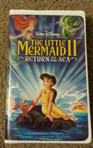 WALT DISNEY THE LITTLE MERMAID II RETURN TO THE SEA VHS. for Sale in Mesa, AZ