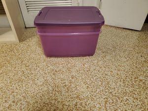 2 storage bins from target for Sale in Alexandria, VA