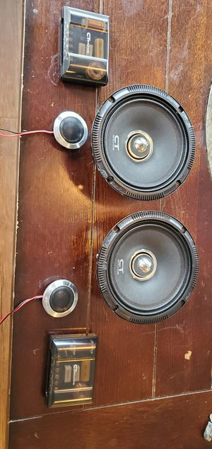 """Pro Audio 6.5"""" Ct Sounds speakers for Sale in Houston, TX"""