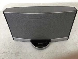 Bose SoundDock N123 Portable Digital Music System Dock w/ Charger Silver Black for Sale in Lauderdale Lakes, FL