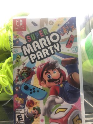 """Nintendo switch """"Mario party """" for Sale in Pawtucket, RI"""