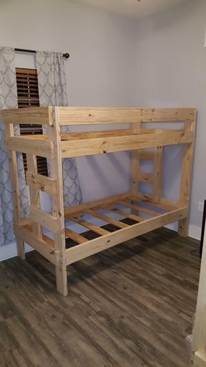 Twin over twin bunk beds for Sale in Houston, TX