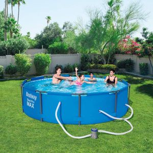 Bestway 10' X 30'' steel frame pool with pump for Sale in Fresno, CA