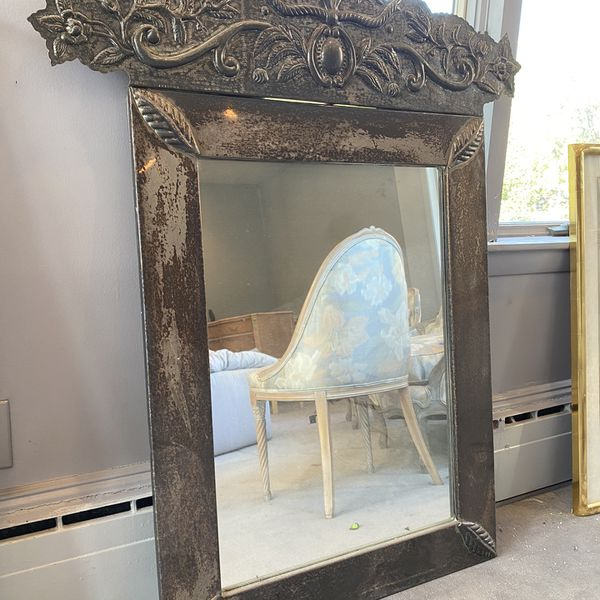Floral Detailed Mirror
