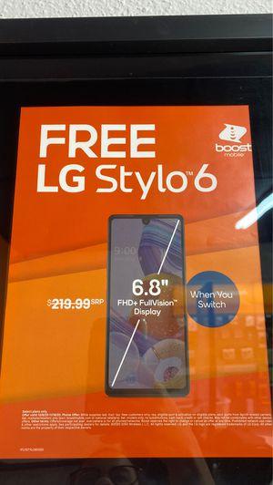 LG Stylo 6 FREE for Sale in Orlando, FL