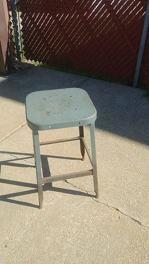 Vintage Industrial Stool for Sale in Cleveland, OH