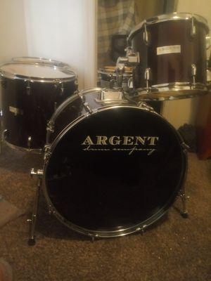 Argent 4 piece drum set for Sale in Evansville, IN