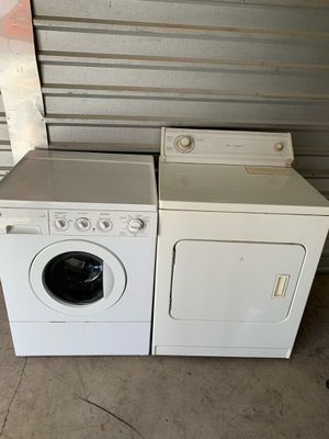 GE Washer And Whirlpool Dryer for Sale in Phoenix, AZ