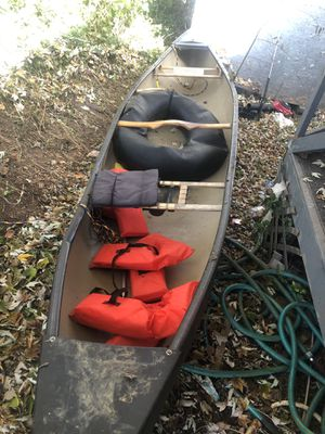 16x4 canoe for Sale in Maryville, TN