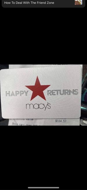Macy's card for Sale in Richland, WA