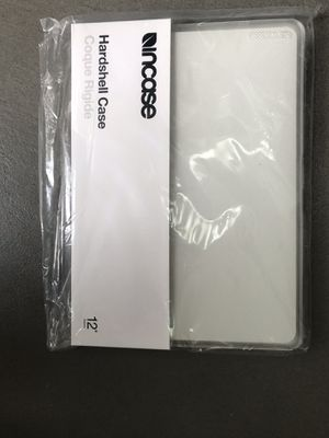 "Two (2) Incase hardshell cover for MacBook 12"", clear dotted, one brand new/unopened and one used for Sale in Seattle, WA"