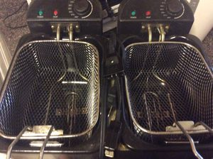 Boss double Deep Fryer for Sale in Forest Heights, MD