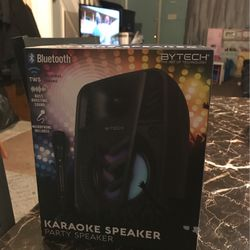 Karaoke Machine With Microphone , Brand New, An Bluetooth for Sale in Philadelphia,  PA