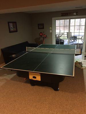 Kettler Air Hockey - Ping Pong Combo Table - Full Size for Sale in Woodbine, MD