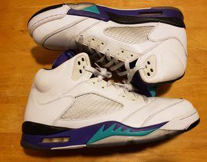 "Retro Air Jordan 5 ""Grape"" Sz 13 for Sale in Phoenix, AZ"