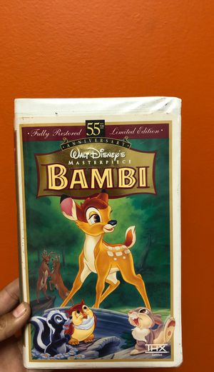 Walt Disney's Masterpiece Bambi for Sale in Hazard, CA