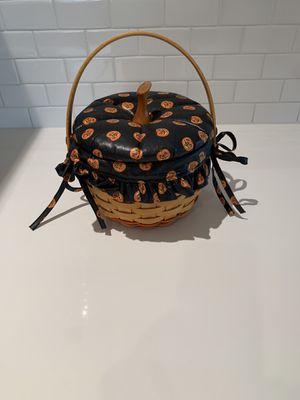 Longaberger small pumpkin basket 1996 for Sale in Medina, WA