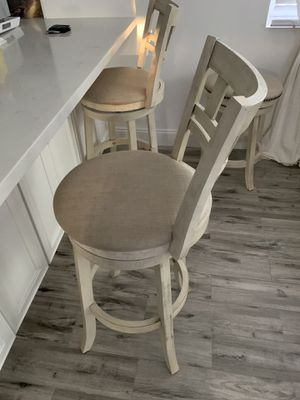 Farmhouse stool chairs for Sale in Miami, FL
