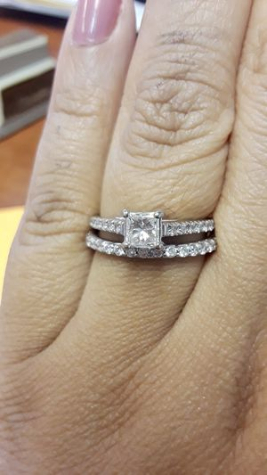Engagement Ring/ Wedding Band 7.5 for Sale in Colorado Springs, CO