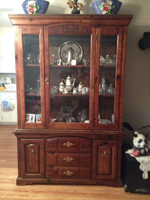 Nice antique china cabinet need to be gone for Sale in Palmdale, CA